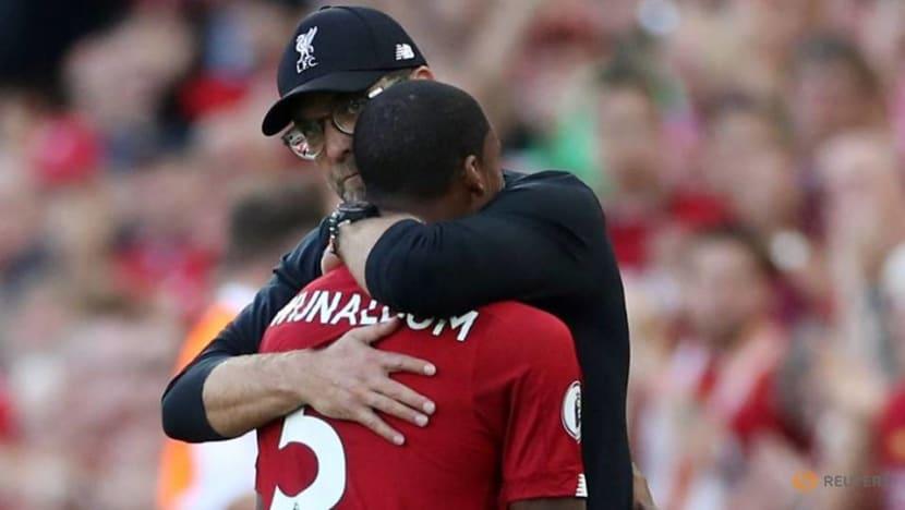 Football: Liverpool boss Klopp optimistic about Wijnaldum's future