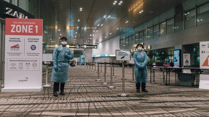 Protecting passengers and themselves: Changi Airport staff on keeping the aviation hub running in the pandemic