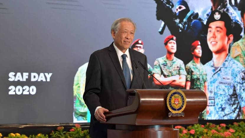 SAF soldiers 'rose to the occasion' in fight against COVID-19: Ng Eng Hen