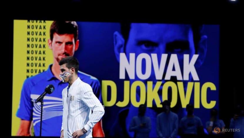 Tennis: Djokovic thrashes debutant Schwartzman at ATP Finals