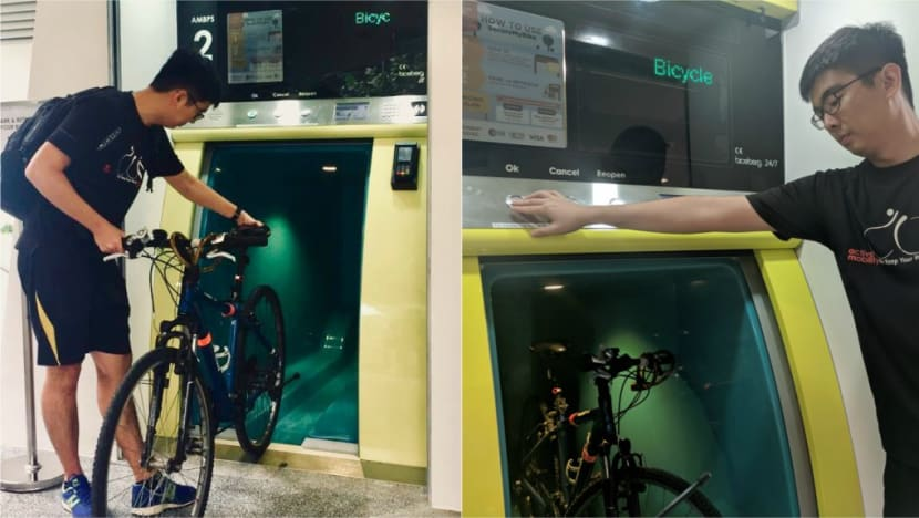 Underground bicycle parking in Kampong Admiralty ended as fees could not cover operating costs, says Khaw Boon Wan