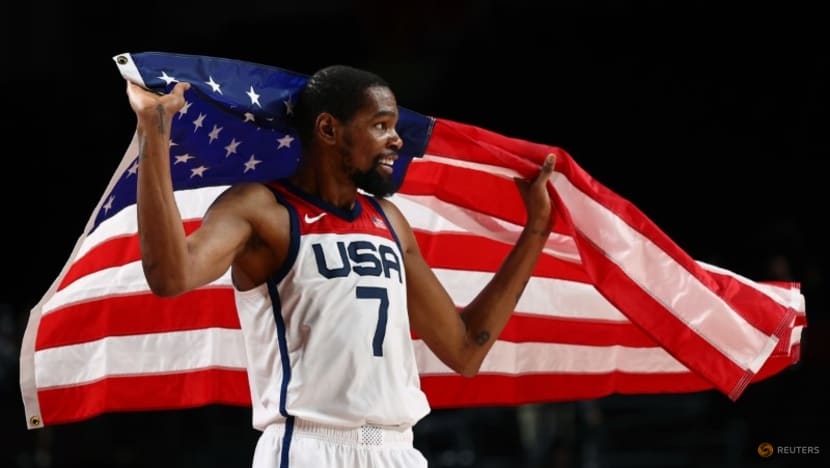 Olympics-Basketball-Durant leads US to 16th men's gold in revenge match against France