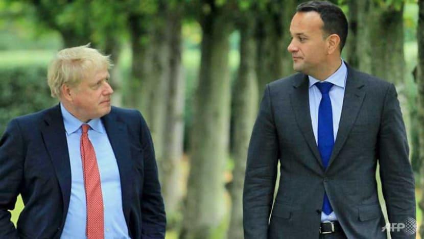 British PM Johnson plays down Brexit breakthrough hopes
