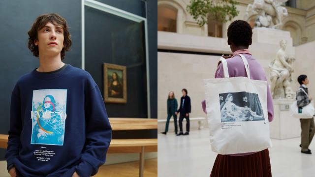把Mona Lisa穿戴身上!Uniqlo x 卢浮宫2021秋冬联名登场