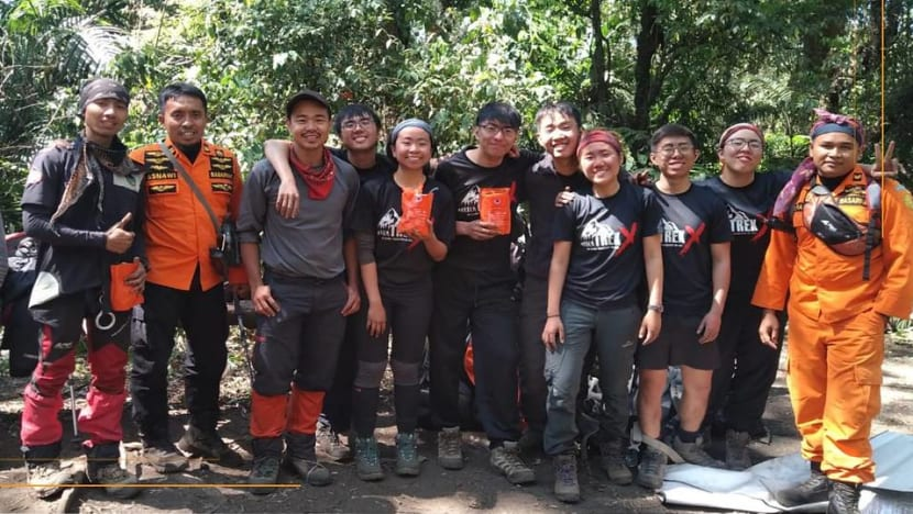 7 Singaporean hikers rescued from Indonesia's Mount Raung after forest fires