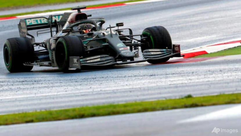 Hamilton wins in Turkey for record-equalling seventh F1 title