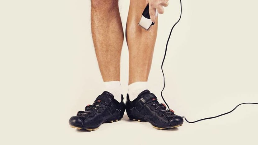 The weird and wonderful world of male grooming (and shiny legs)