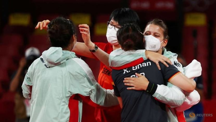 Olympics: German women's team gun for another Olympic medal in table tennis