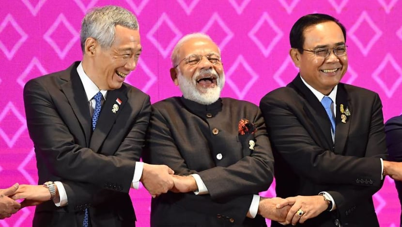 PM Lee calls on ASEAN and India to 'redouble' economic integration efforts