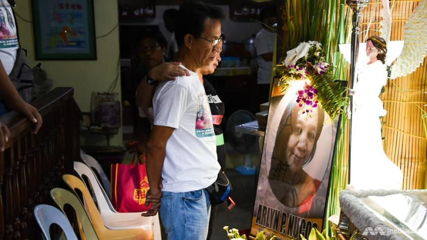 'Now that she's gone, it makes us worry for our future': Lucky Plaza accident victim Arlyn Nucos buried in hometown