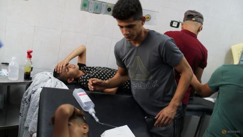 Israeli aircraft strike Hamas sites in Gaza after border clashes