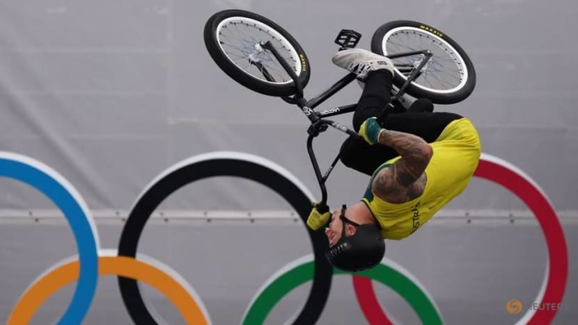 Olympics-Cycling-BMX freestylers soar on Games debut