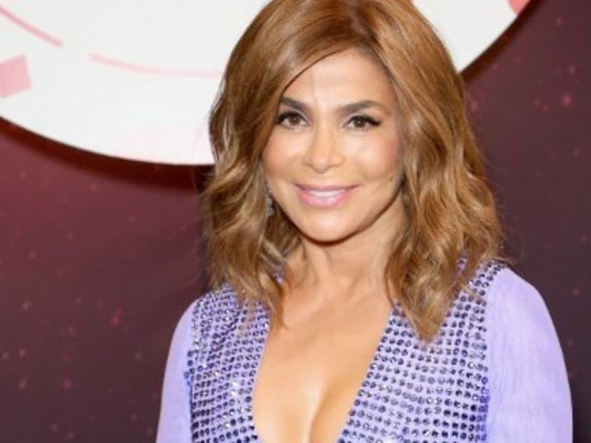 Paula Abdul tumbles off stage on her first tour in 25 years