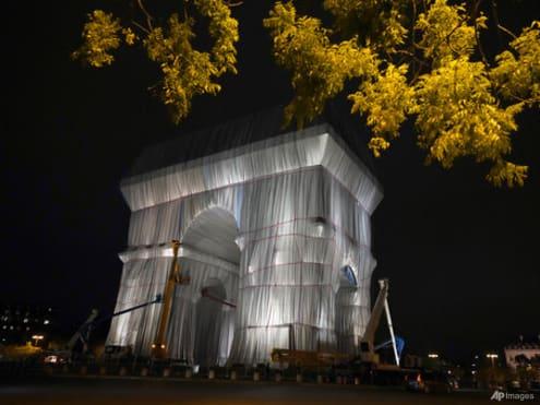 'Crazy dream come true': Paris' Arc de Triomphe is officially wrapped up