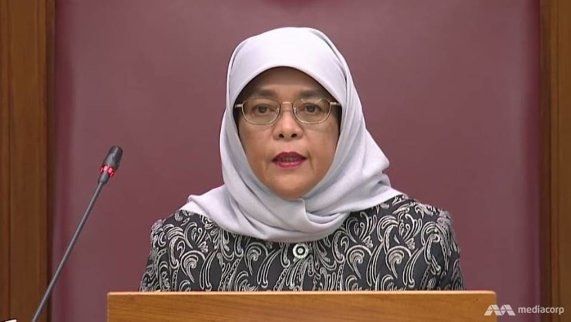 Discrimination has 'no place at all' in Singapore society and the workplace: President Halimah