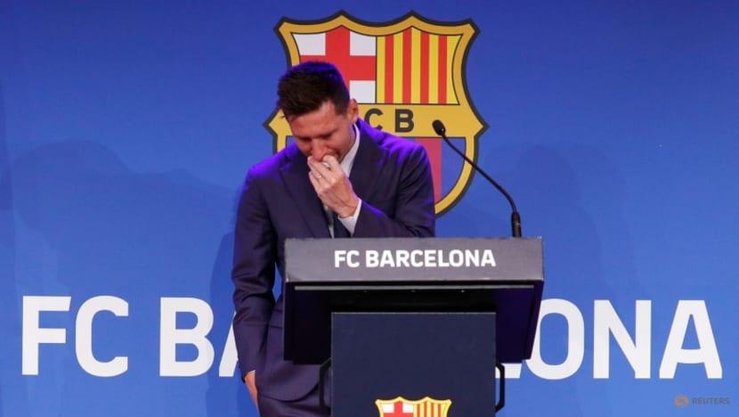Tears, standing ovation mark Messi's farewell to Barcelona