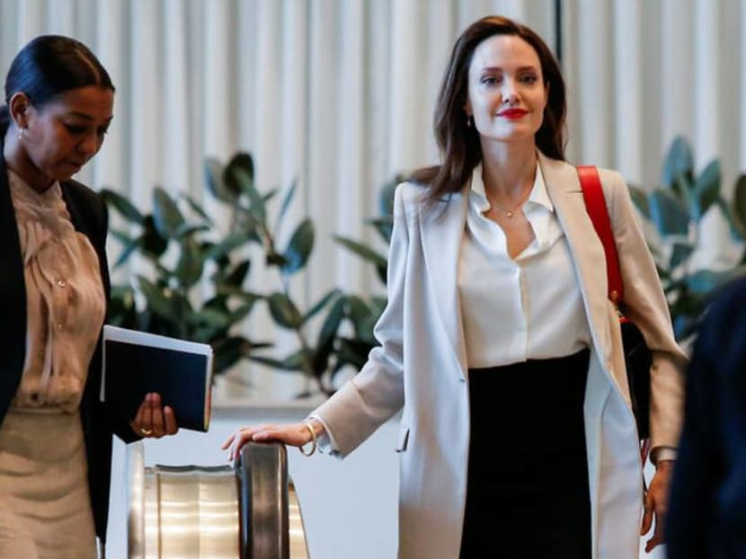 Angelina Jolie drops Pitt from her last name following divorce