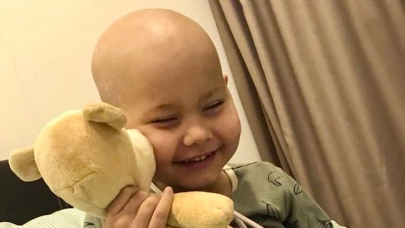 British boy who came to Singapore for treatment for aggressive cancer is 'almost ready to go home'