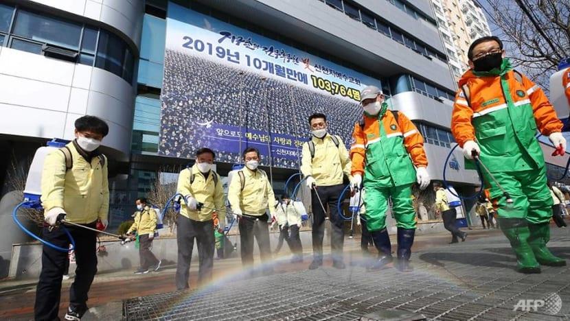 South Korea's coronavirus cases climb above 7,000, most cases traced to church