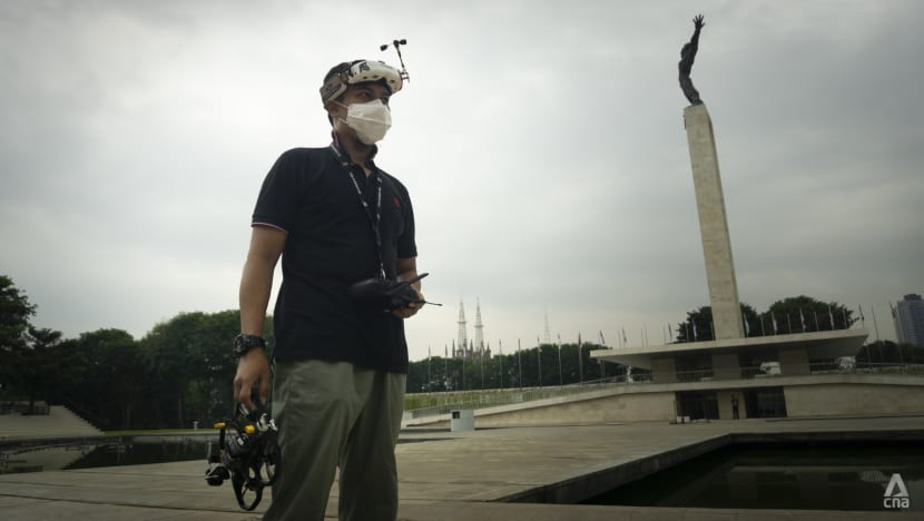 'I want my viewers to get that adrenaline rush': Drone enthusiast in Indonesia turns passion into career