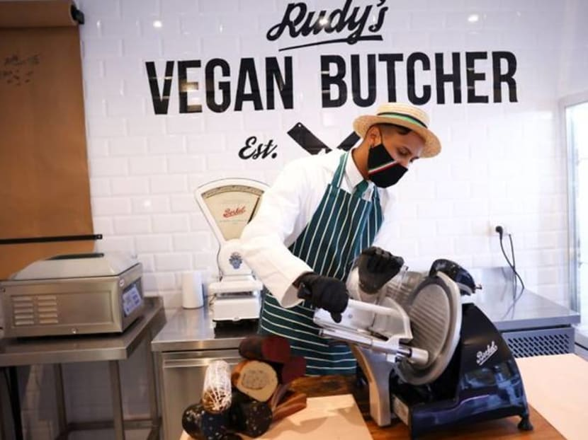 Where's the meat? UK's first vegan butchers launches
