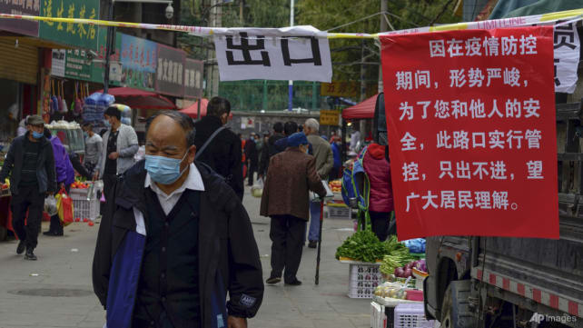 China locks down city of 4 million over COVID-19 outbreak