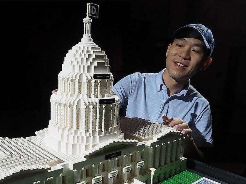 Creative Capital: The Singapore brick artist who built a business using Lego