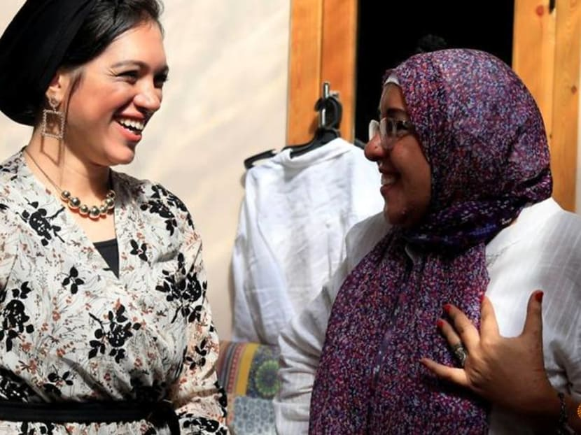Egyptian designer tailors clothing brand for people with disabilities