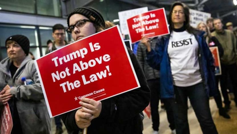 The impeachment charges against US President Donald Trump