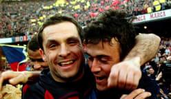 Barcelona name Barjuan as interim coach after dismissal of Koeman