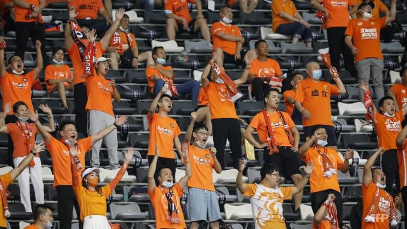 Football: Wuhan fans in tears as they watch their first match since COVID-19
