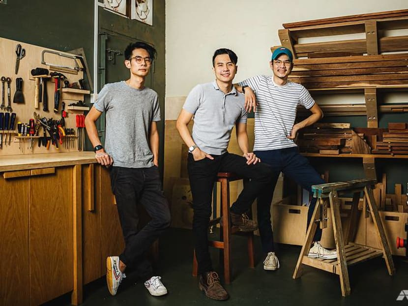 'By Singaporeans, for Singaporeans': The brothers making furniture from local trees