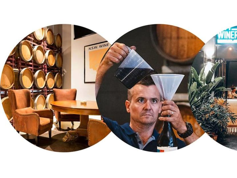In Australia, you can enjoy a winery experience without leaving the city
