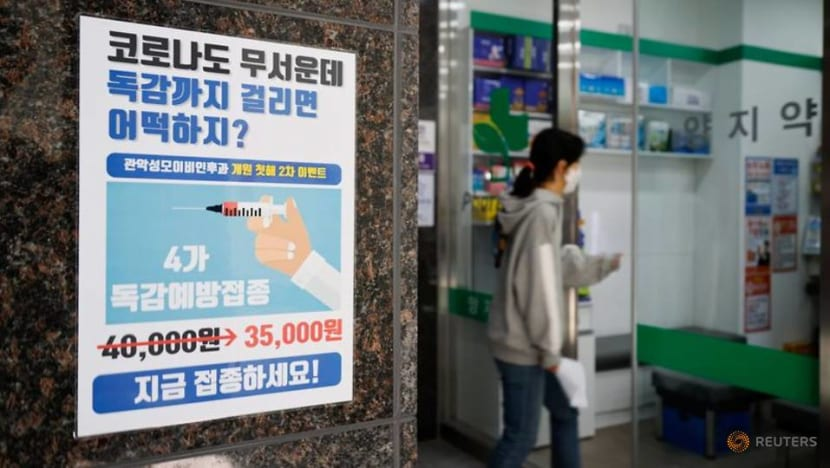 South Korea urges people to get flu shots, trust its steps on health