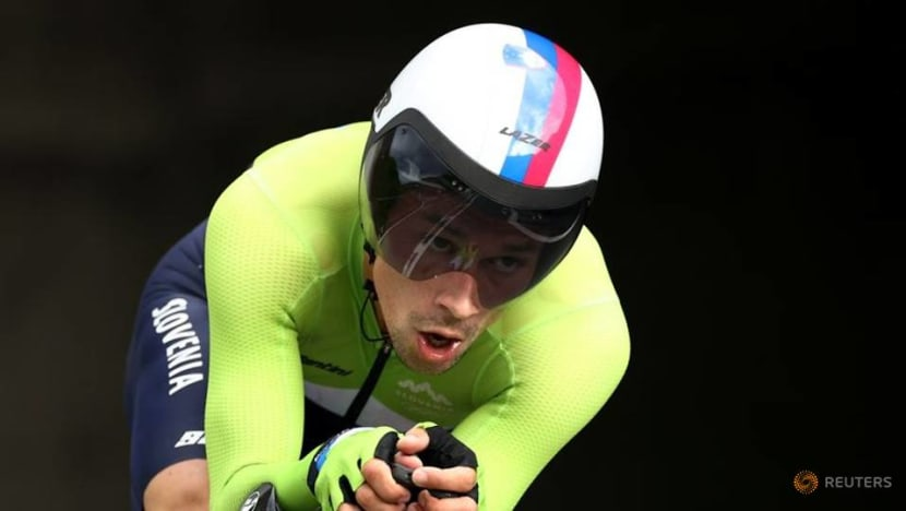 Cycling: Roglic takes Tokyo Olympics men's road time trial gold as Ganna blows it