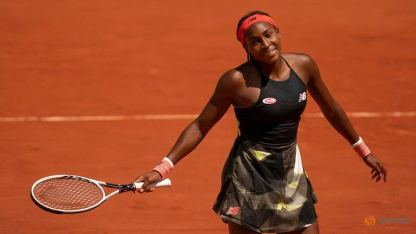 Tennis: Gauff handles media questions like a forehand, with style and control
