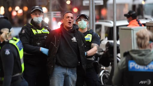 Locked-down Melbourne braces for more protests as COVID-19 cases rise