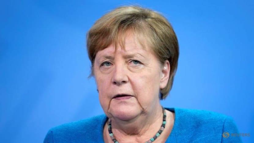 Merkel sees strategic case for Balkan states joining EU