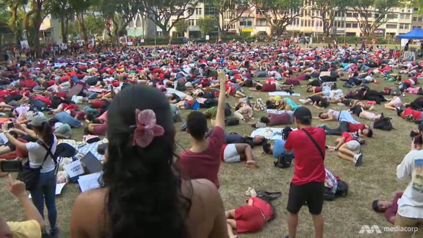 More than 1,700 turn up at first Singapore Climate Rally