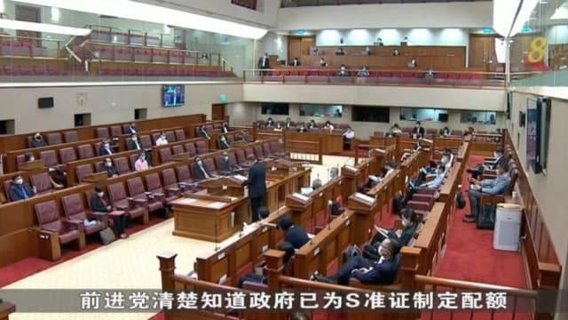 陈诗龙逐一反驳梁文辉调整外籍员工政策建议