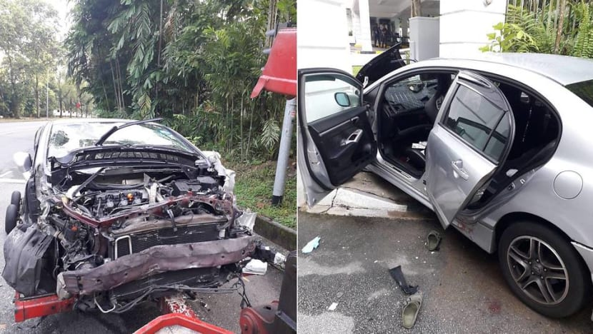 Secret society member in car chase that led to fatal Istana crash pleads guilty to multiple offences