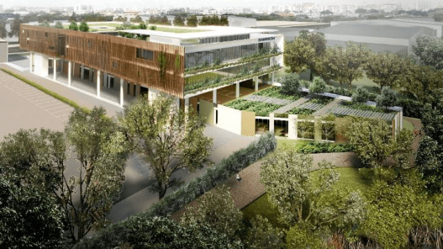 """17个建筑发展项目 获建设局""""超低能耗绿色建筑标志"""""""