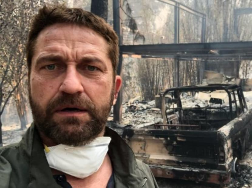 Miley Cyrus, Gerard Butler among celebs who lost homes in California fires