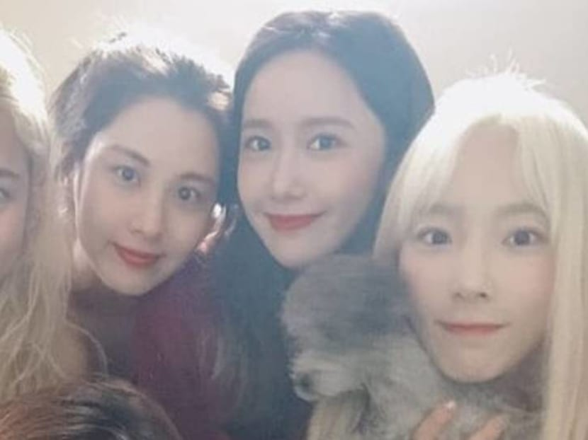 Together again: K-pop group Girls' Generation held a mini reunion