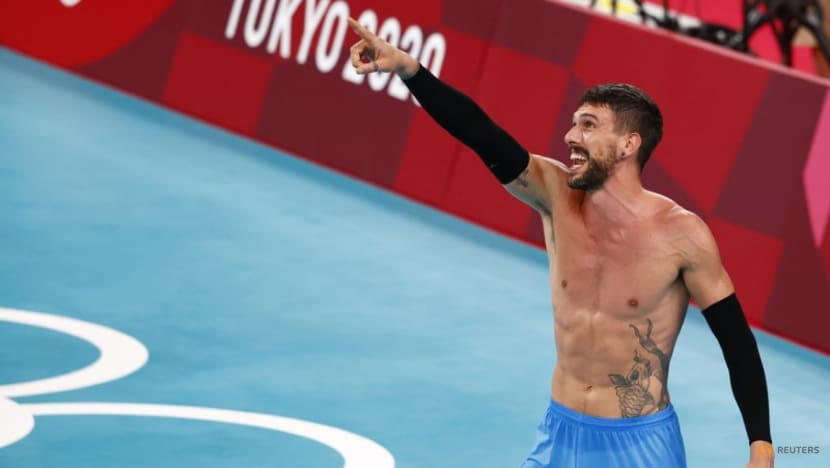 Volleyball: Argentina's Conte earns bronze just like his dad