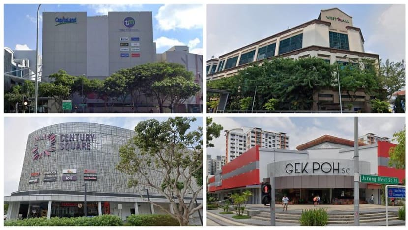 4 shopping malls among locations added to list of places visited by COVID-19 cases during infectious period