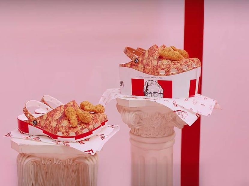 KFC and Crocs team up to make shoes that smell like fried chicken