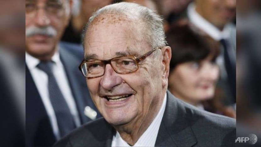 Former French president Jacques Chirac dies aged 86