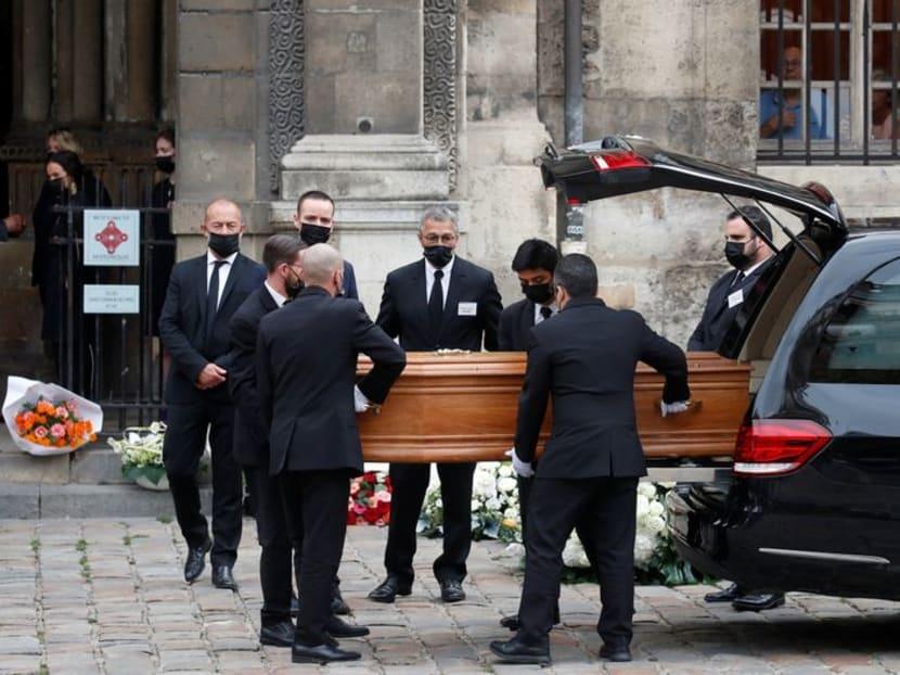 Family, stars including Alain Delon bid farewell to iconic French actor Belmondo