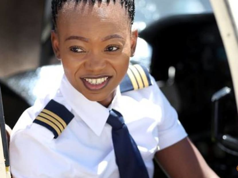 South Africa's first female Black helicopter pilot teaches others to bust the glass ceiling